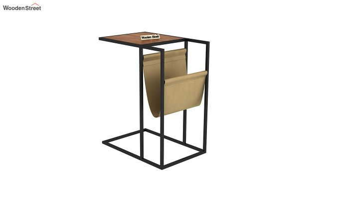 Leeds End Table (Teak Finish)-2