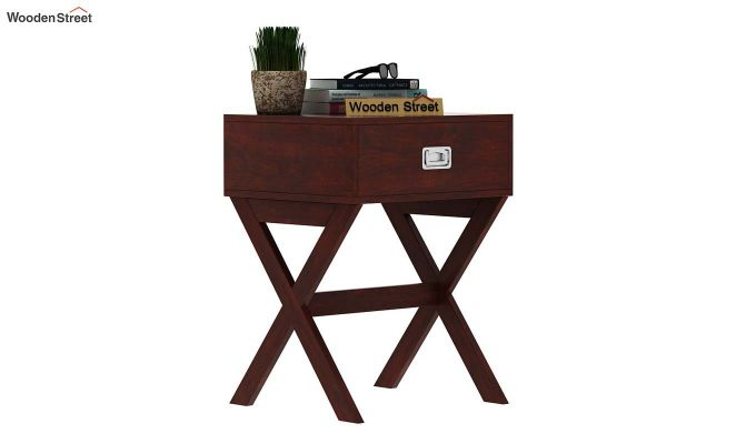 Snipe Side End Table (Mahogany Finish)-2