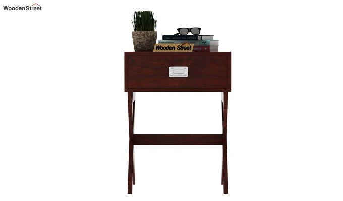 Snipe Side End Table (Mahogany Finish)-3