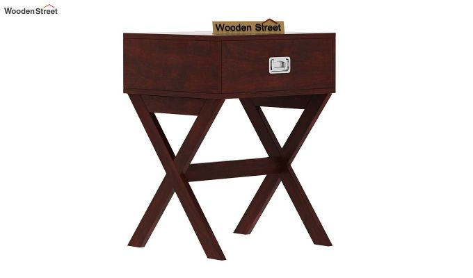 Snipe Side End Table (Mahogany Finish)-4