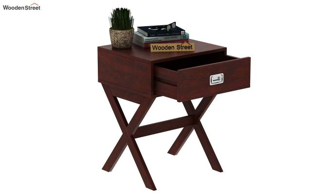 Snipe Side End Table (Mahogany Finish)-5