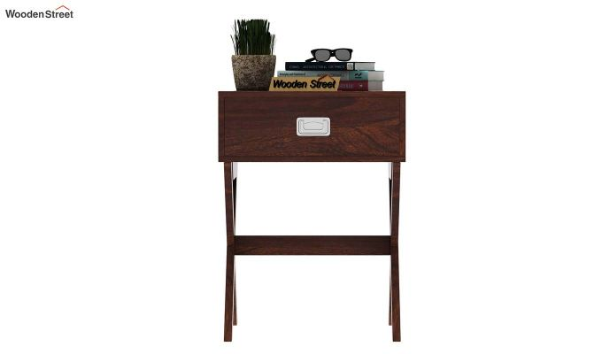 Snipe Side End Table (Walnut Finish)-3