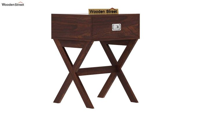 Snipe Side End Table (Walnut Finish)-4