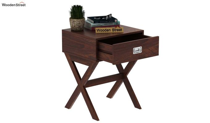 Snipe Side End Table (Walnut Finish)-5