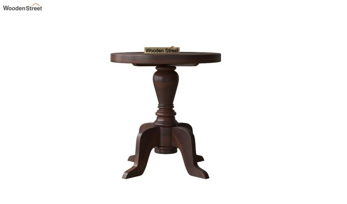 Tarlson Round End Table (Walnut Finish)-3