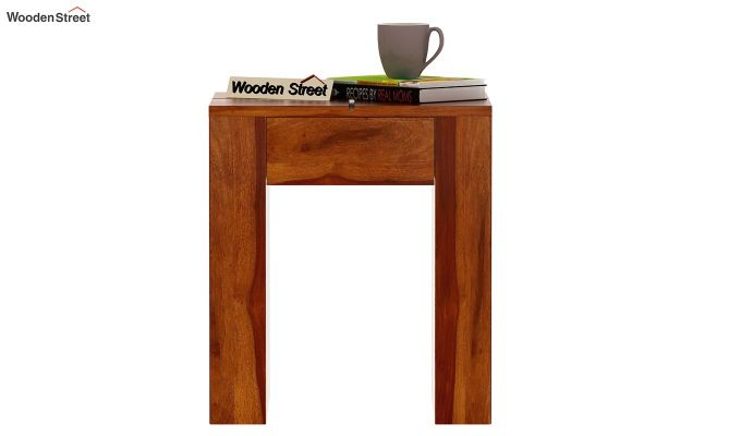 Vadis Chair Side Table (Honey Finish)-2