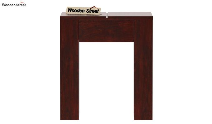 Vadis Chair Side Table (Mahogany Finish)-5
