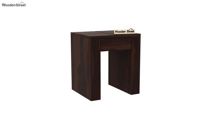 Vadis Chair Side Table (Walnut Finish)-2