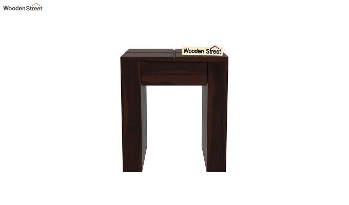 Vadis Chair Side Table (Walnut Finish)-3