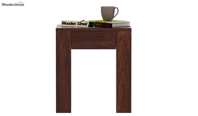 Vadis Chair Side Table (Walnut Finish)-2