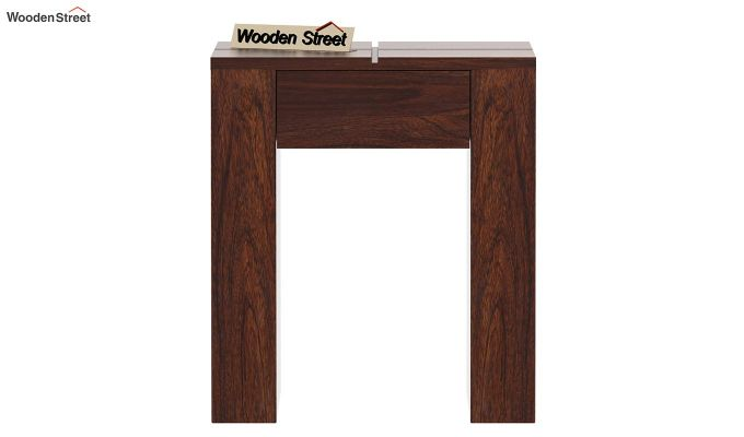 Vadis Chair Side Table (Walnut Finish)-4
