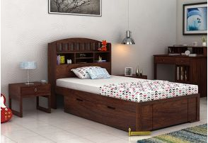 Single Beds Buy Single Bed Online Upto 55 Off At Woodenstreet