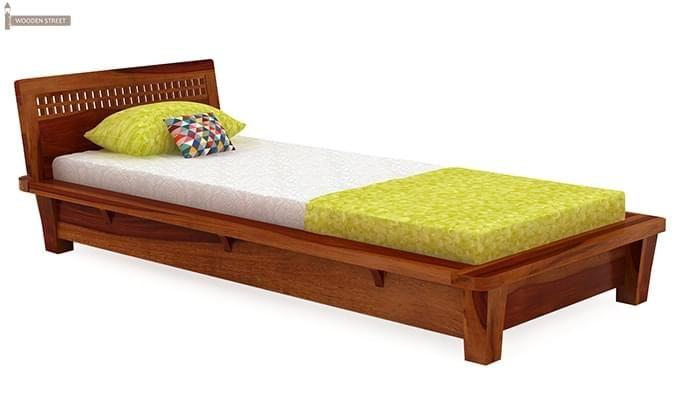 Carden Single Bed (Honey Finish)-2