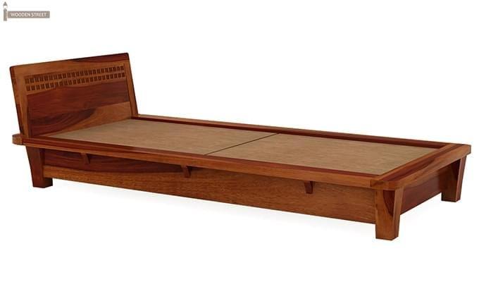 Carden Single Bed (Honey Finish)-4