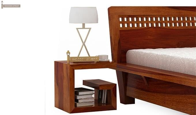 Carden Single Bed (Honey Finish)-6