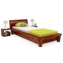 Carden Single Bed (Honey Finish)