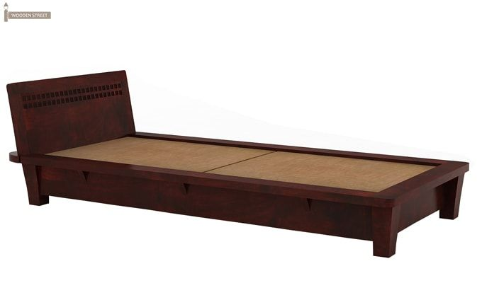 Carden Single Bed (Mahogany Finish)-3