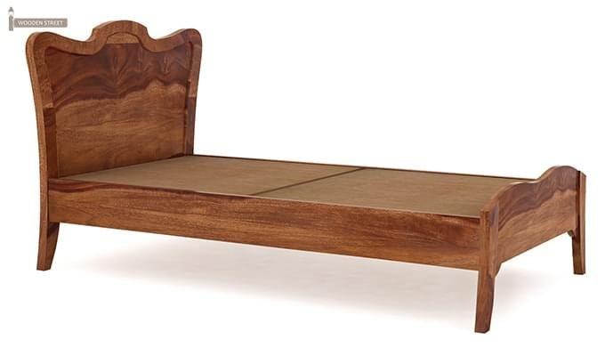 Cooper Single Bed (Teak Finish)-4