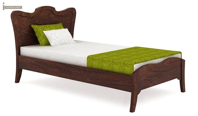 Cooper Single Bed (Walnut Finish)-2