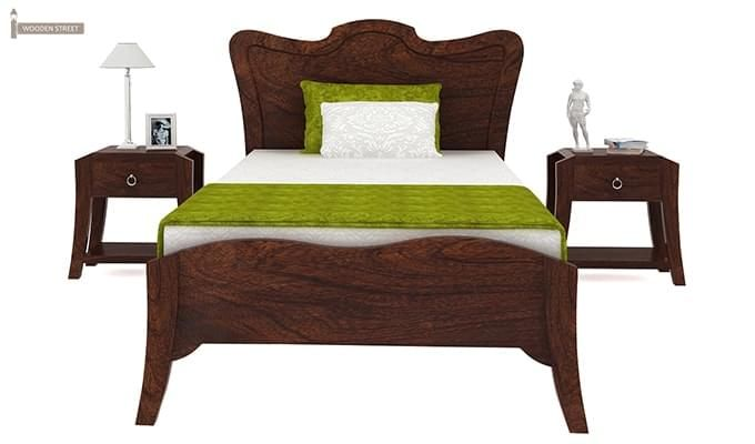Cooper Single Bed (Walnut Finish)-3