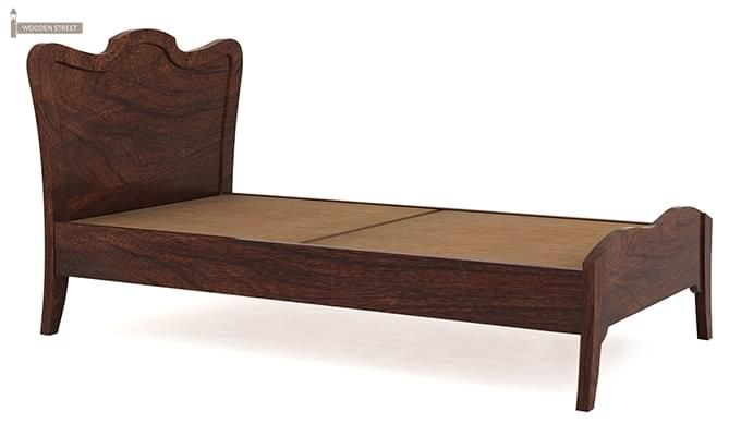 Cooper Single Bed (Walnut Finish)-4