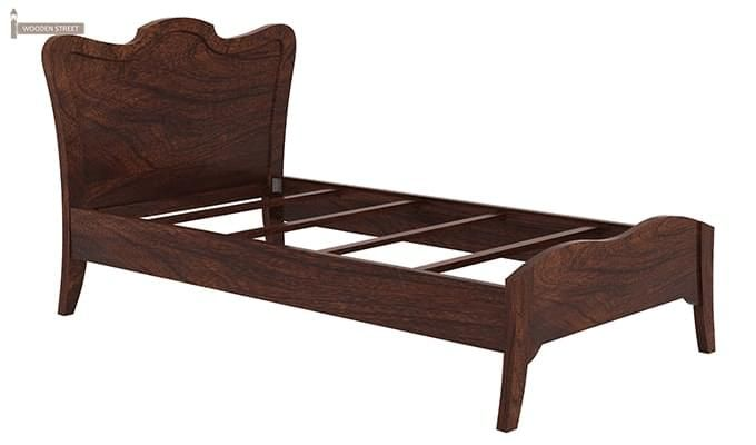 Cooper Single Bed (Walnut Finish)-5