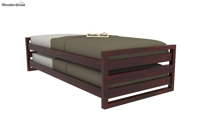 Darley Stackable Bed (Mahogany Finish)-2