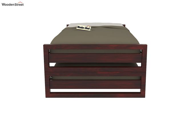 Darley Stackable Bed (Mahogany Finish)-3