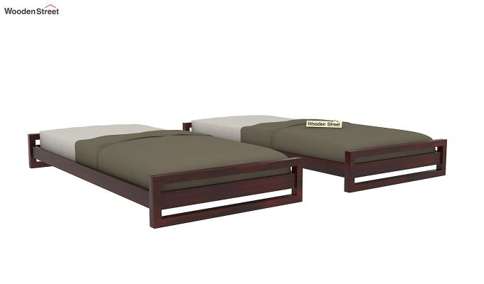 Darley Stackable Bed (Mahogany Finish)-7