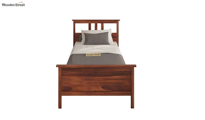 Megan Single Bed (Honey Finish)-4