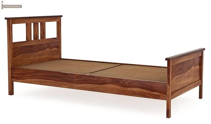 Megan Single Bed (Teak Finish)-3