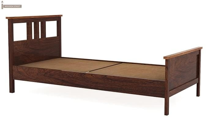 Megan Single Bed (Walnut Finish)-3