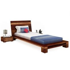 Melisandre Single Bed (Honey Finish)
