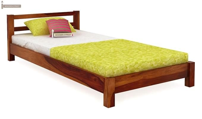 Pavlich Single Bed (Honey Finish)-1
