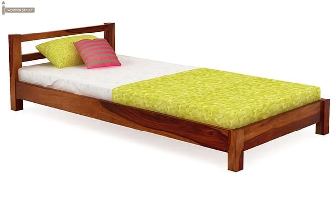 Pavlich Single Bed (Honey Finish)-2