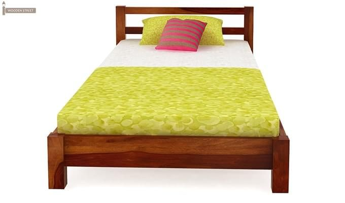 Pavlich Single Bed (Honey Finish)-3