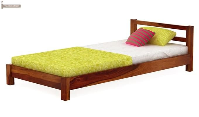 Pavlich Single Bed (Honey Finish)-4
