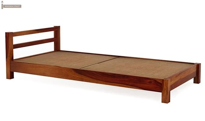 Pavlich Single Bed (Honey Finish)-5