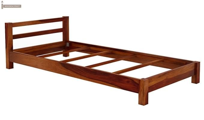 Pavlich Single Bed (Honey Finish)-6
