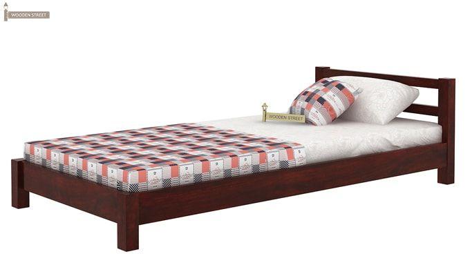 Pavlich Single Bed (Mahogany Finish)-4