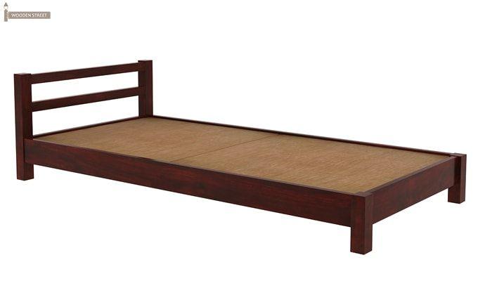 Pavlich Single Bed (Mahogany Finish)-5