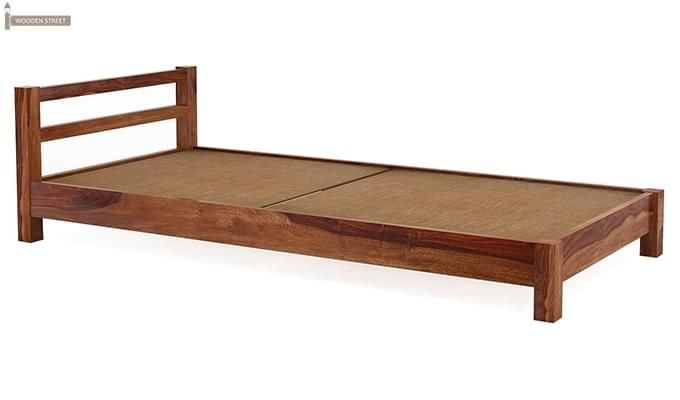 Pavlich Single Bed (Teak Finish)-5