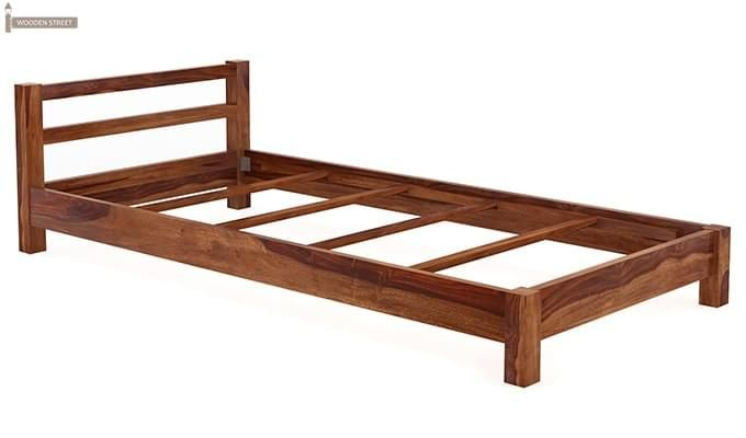 Pavlich Single Bed (Teak Finish)-6