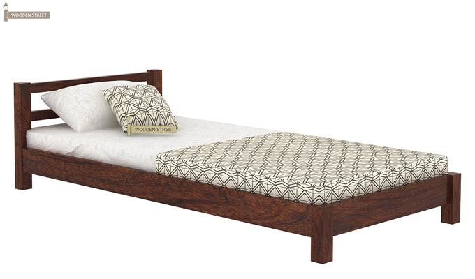 Pavlich Single Bed (Walnut Finish)-3