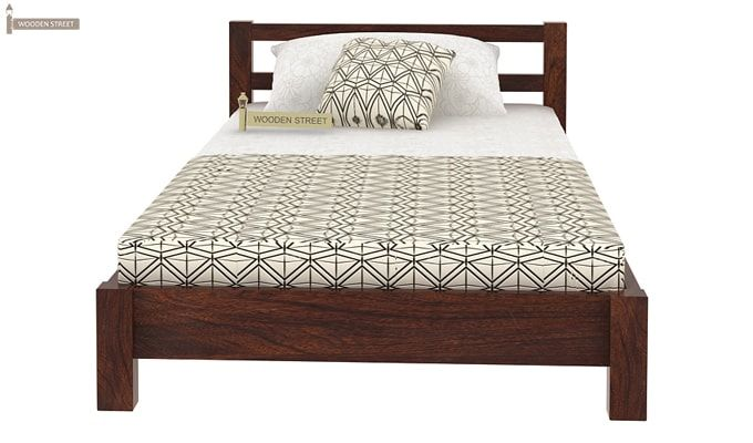 Pavlich Single Bed (Walnut Finish)-4
