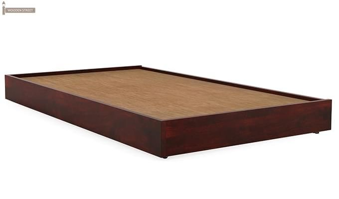 Thienne Single Bed (Mahogany Finish)-4