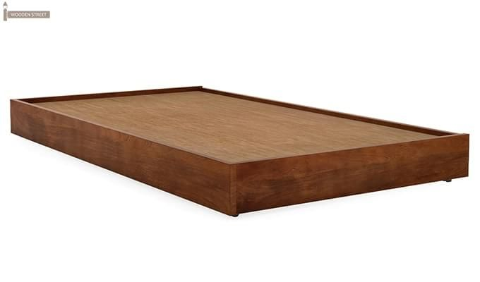 Thienne Single Bed (Teak Finish)-4