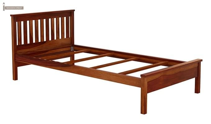 Venus Single Bed (Honey Finish)-6