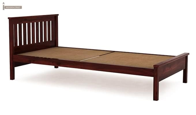 Venus Single Bed (Mahogany Finish)-4