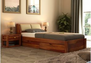 Single Beds Buy Single Bed Online Upto 55 Off Woodenstreet